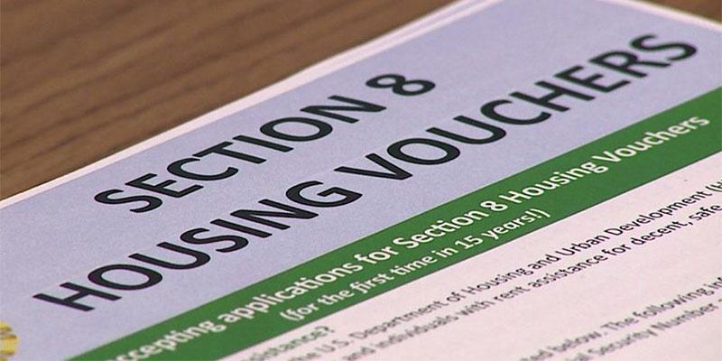 Section 8 housing voucher form